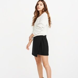 A&F Pleated Wrap Mini Skirt S $40